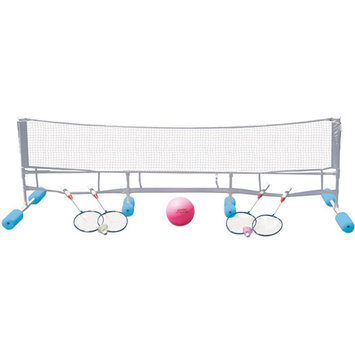 Poolmaster Super Combo Water Volleyball/Badminton Game