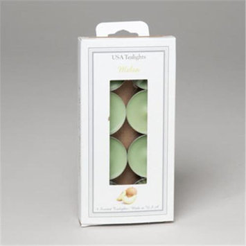 RGP 715 Candle Tealight 8 Count Melon Scent Pack Of 24