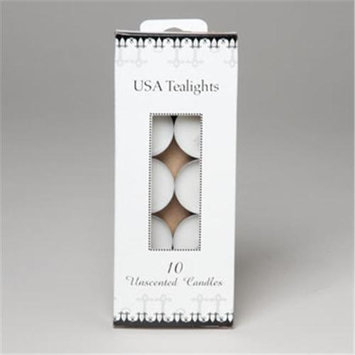 RGP 500 Candle Tealight Unscented Pack Of 72