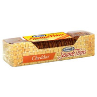 Sesmark Sesame Thins Cheddar -Pack of 12