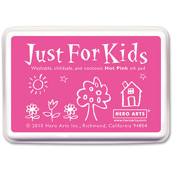 Hero Arts Just For Kids Inkpad-Hot Pink