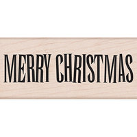 Hero Arts Mounted Rubber Stamps-Big Merry Christmas