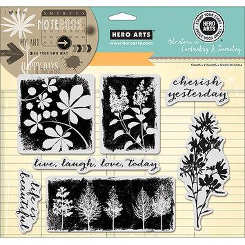 Hero Arts Adventures In Cardmaking & Journaling Cling Stamps-Cherish Yesterday 8inX6in