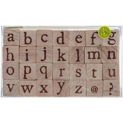 Hero Arts Mounted Rubber Stamp Set 3.5inX5.25in Legacy Lowercase