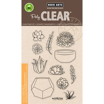 Hero Arts Clear Stamps 4inX6in SheetPapel Picado Banners