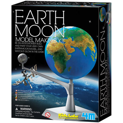 4M Toys Earth and Moon Model Kit 3436