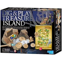 4M Dig and Play Treasure Island Play Set