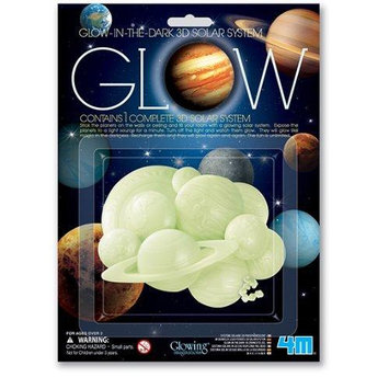 4M Glow 3D Solar System Multi-Colored