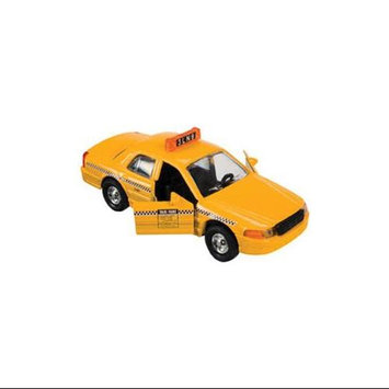 Accoutrements Toysmith Pullback Toy Taxi Die-Cast Car 4869