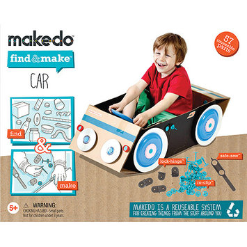 Makedo Find And Make Car Kit - 57 Pieces
