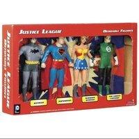 Toysmith Justice League Boxed Set Bendables
