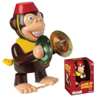 Toysmith Wind Up Monkey with Cymbals