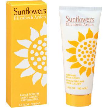Elizabeth Arden Sunflowers Eau de Toilette Spray with Bonus Perfumed Body Lotion, 1.7 fl oz