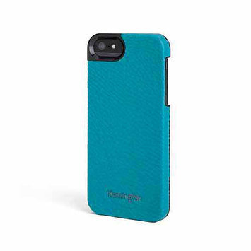 Kensington 39631 Vesto Textured Leather Case, For Iphone 5, Black/green