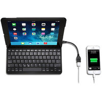 SYNX4067967 - Kensington KeyFolio Thin X3 K97389US Keyboard/Cover Case (Folio) for iPad Air - Black