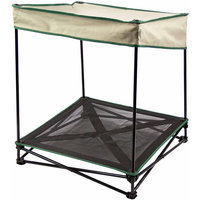 Quik Shade 24 in. W x 24 in. D Small Yellow Diamond Instant Pet Shade with Mesh Bed 160241