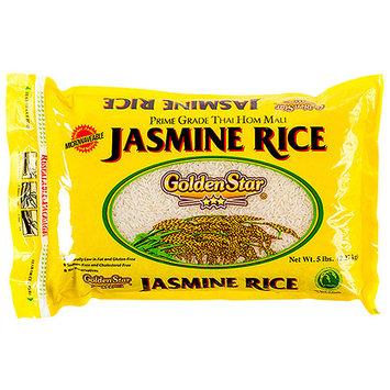 Golden Star: Prime Grade Long Grain Fragrant Jasmine Rice, 5 Lb