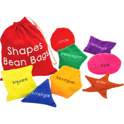 Educational Insights Shapes Bean Bags - Set of 8