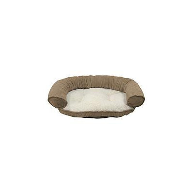 Canine Creations Butler Paisley Recliner Bolster Pet Bed - Bamboo