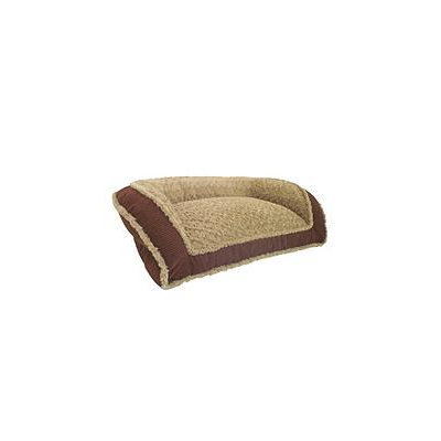 Arlee Home Fashions Inc Houndstooth Microfiber Couch Style Rectangle Bolster Bed