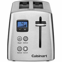 Cuisinart 2 Slice Countdown Metal Toaster Stainless steel