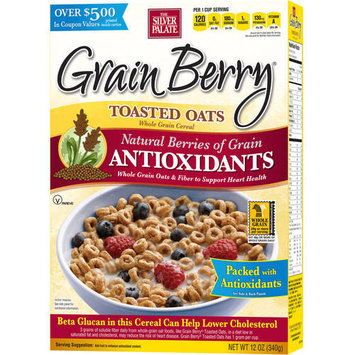 The Silver Palate Grain Berry Antioxidant Cereal Toasted Oats 12 oz