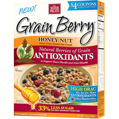 The Silver Palate Grain Berry Antioxidants Cereal Honey Nut 12 oz