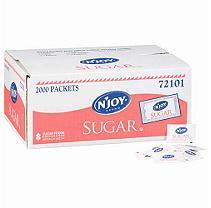 N'JOY - Pure Sugar Packets - 2,000 Count [CLUB]