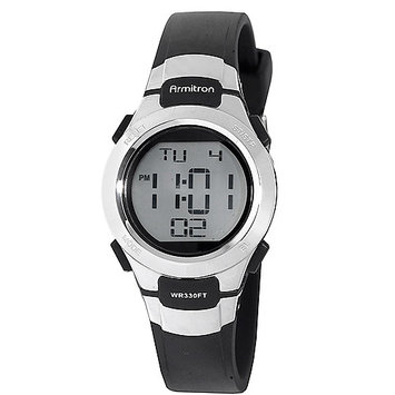 Armitron - Women's Chronograph Digital Sport Watch - Black