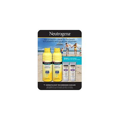 Neutrogena Beach Defense Sunscreen Value Pack