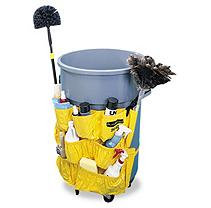 Rubbermaid Commercial RCP264200YW Yellow Brute Caddy Bag