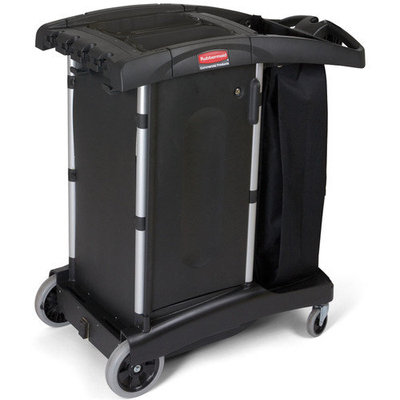Rubbermaid Commercial Products RCP 9T77 Turndown Housekeeping Cart
