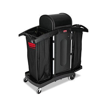 Rubbermaid Commercial RCP9T78 Black / Silver High-Security