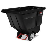 Rubbermaid Commercial Products Tilt Trucks - 1/2 cu yd utility ti