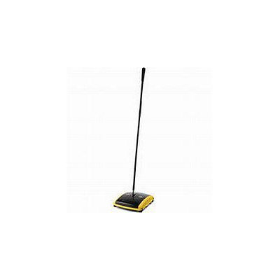Rubbermaid Commercial RCP421388BLA Dual Action Sweeper, Boar/Nylon Bristles, 42