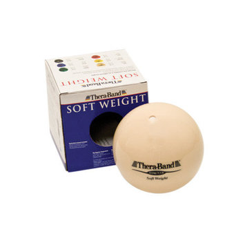 Performance Health Inc Thera-Band Soft Weight, Black 6.6 lbs / 3 kg