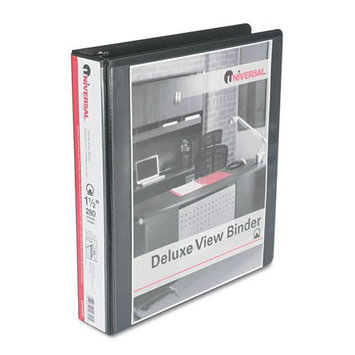 Universal Products Universal Office Products View Binders Universal Deluxe 1 1/2