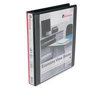 Universal 20741 Economy D-Ring Vinyl View Binder, 1