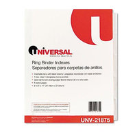 Universal Office Products Index Tabs and Dividers Universal Extended