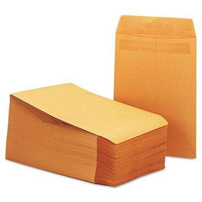 Universal 35290 Self-Stick File-Style Envelope Contemporary 12 x 9 Brown 250/box
