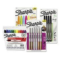 SANBNDM3P1 - Sharpie Fine Point Permanent Markers - Bundle One