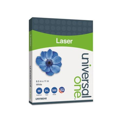 Universal Office Products Laser Paper Universal, 98 Bright, 24 lb, 8