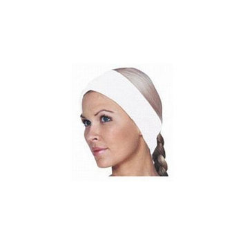 Waffle Weave Velcro Spa Headband / White (3088) - Scalpmaster