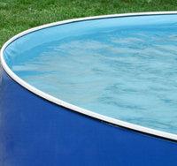 Swim'n Play 18' x 42 Round Vinyl Blue Liner with Port Hole