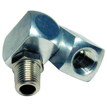 Schrader Bridgeport 1/4 Uni-Swivel 360 Degree Adapter