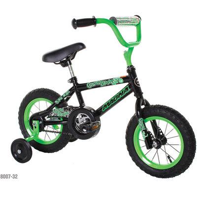 Chitech Dynacraft Magna Gravel Blaster Boy's Bike (12-Inch, Green/Black)
