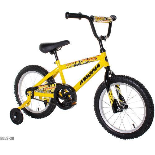 "Chitech Magna Boys 16"" Major Damage Bike - Yellow"