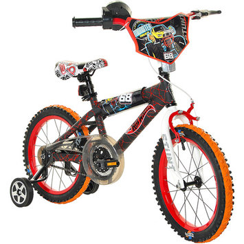 Hot Wheels Boy's Bike - Black/Red (16