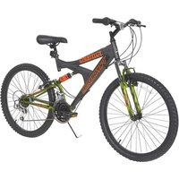 Dynacraft 24 in. Boys Gauntlet Full Suspension Mountain Bike