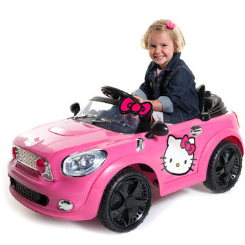 Dynacraft Hello Kitty Coupe 6V Battery Powered Car